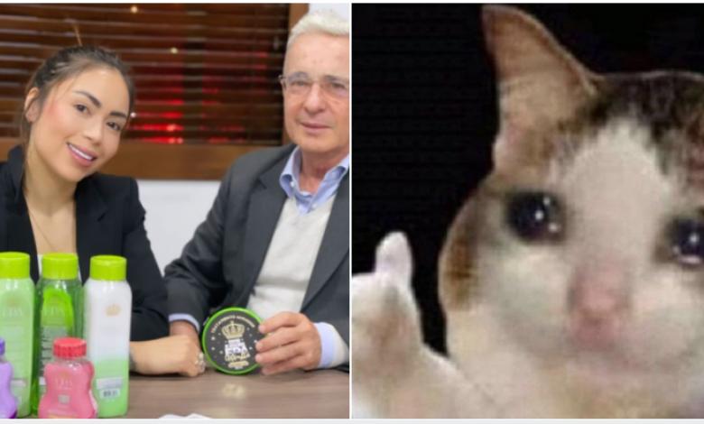 Memes Epa Colombia y Álvaro Uribe