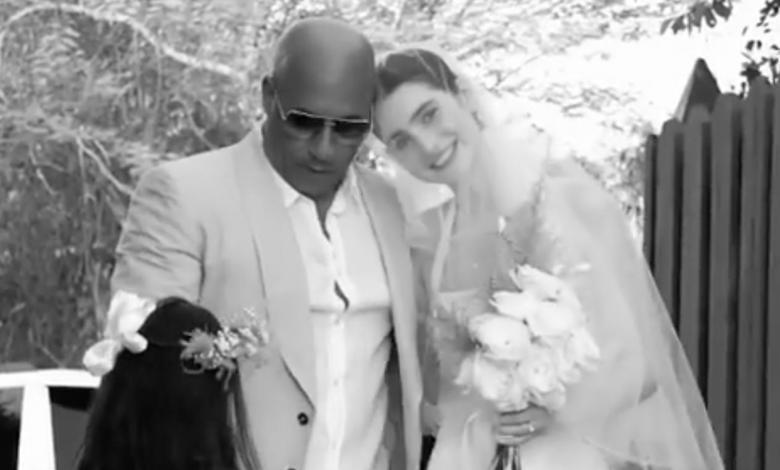 Meadow Walker y Vin Diesel