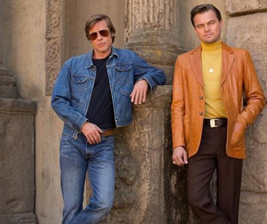 Leonardo DiCaprio y Bard Pitt
