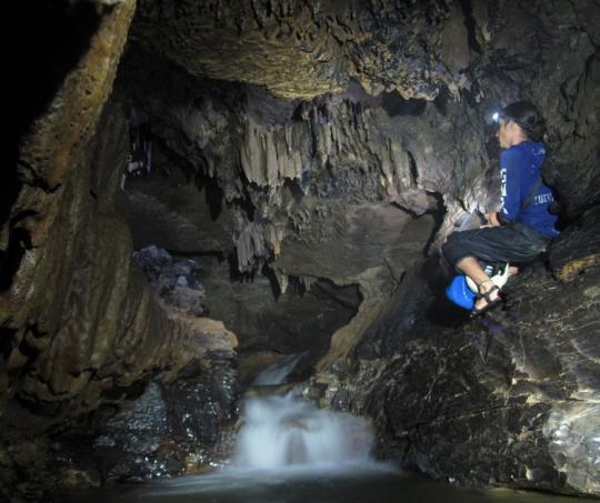 La Cueva de la Vaca, Curití, Santander