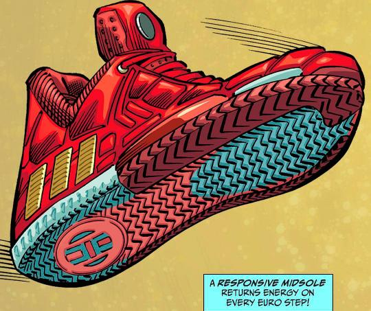 Tenis que diseñó Addidas en honor a Iron Man