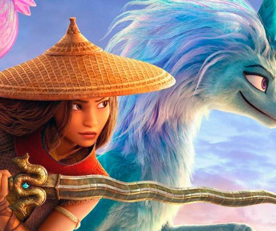 Raya y El Último Dragón, película exclusiva de Disney+