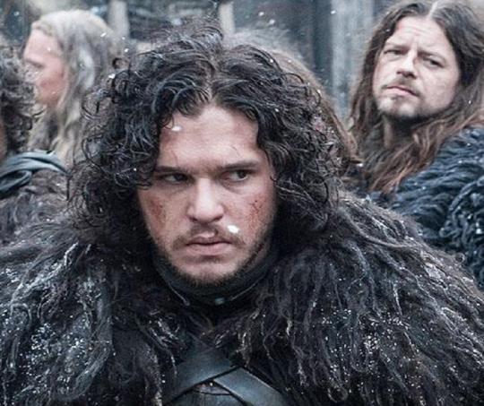 Jon Snow, personaje de Kit Harington en Juego de Tronos