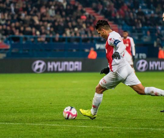 Radamel Falcao es el delantero estrella del AS Mónaco