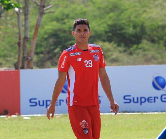 Teo Gutierrez, juega en el Junior