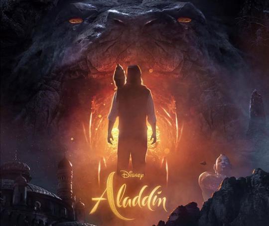 Poster de la película de Aladdin
