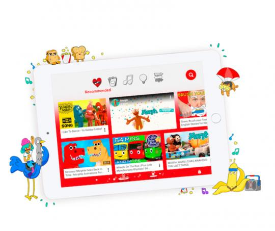 Aplicación Youtube Kids
