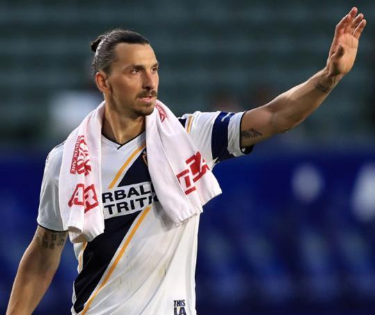 Zlatan Ibrahimovic, delantero sueco figura de la MLS.