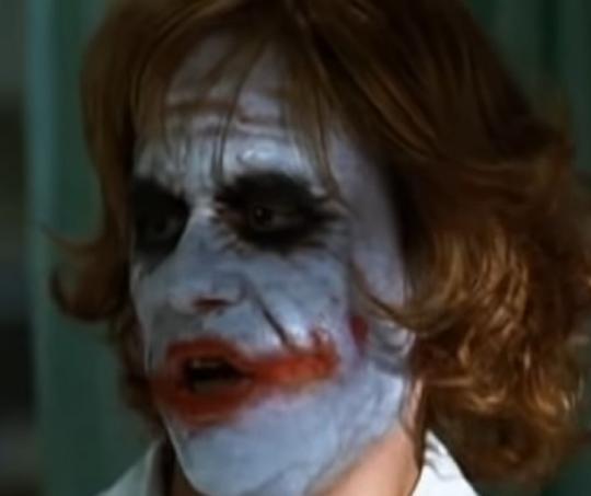 Joker, interpretado por Heath Ledger