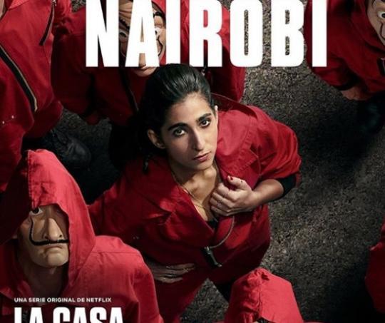 Nairobi en La casa de papel