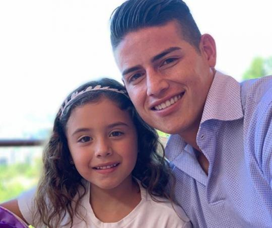 James Rodríguez y Salomé
