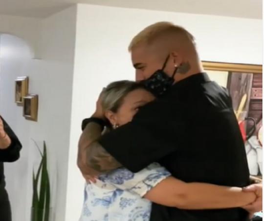 Maluma y su madre