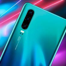 El Huawei P30 es el nuevo modelo de lujo de la marca china