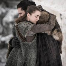 Arya Stark y Jon Snow