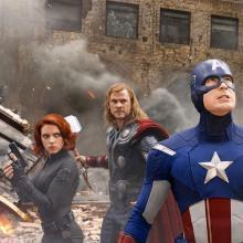 Thor con los Avengers