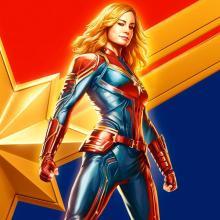 Póster Capitana Marvel