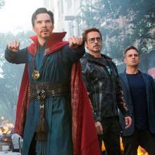 Doctor Strange e Iron Man en Nueva York