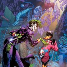 Joker enfrenta al Pato Lucas en un crossover