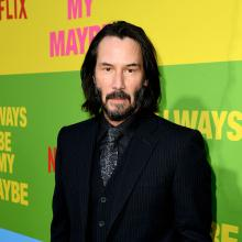 Keanu Reeves es un carismático actor