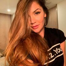 Lina Tejeiro es sensación en redes sociales