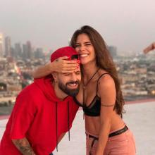 Mike Bahía y Greeicy Rendón juntos