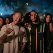 J Balvin y Chris Brown
