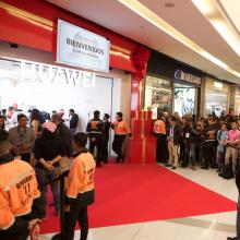 Tienda experiencia Huawei