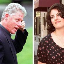 Bill Clinton y Mónica Lewinsky