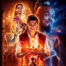 Poster oficial de Aladdin live action