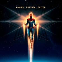Capitana Marvel es la nueva esperanza de los Vengadores