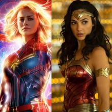 Wonder Woman y Capitana Marvel