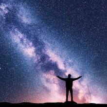 Firmamento lleno de estrellas