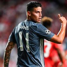 James Rodríguez  en el Bayern Múnich
