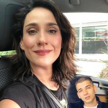 La actriz afirmó que el cantante murió el día de su cumpleaños y aprovechó para enviarle su apoyo a Luisa Fernanda W