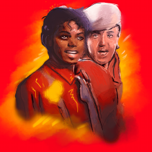 "Michael Jackson y Paul McCartney cantaron juntos en ""say say say"""