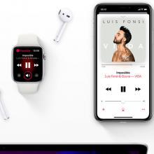 Apple Music en móviles