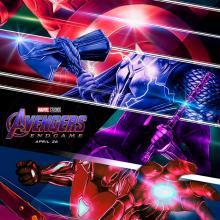 Avengers End Game poster de la película