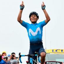 Nairo Quintana en competencia