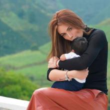 Sara Uribe tiene un hijo con Fredy Guarín