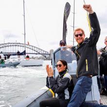 Meghan Markle y el príncipe Harry son una sensación en Instagram