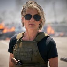 Sarah Connor en Terminator Destino Oculto
