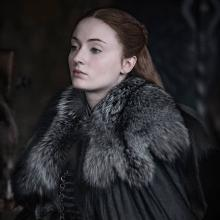 Sophie Turner es Sansa Stark en Game of Thrones