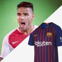 Falcao y la camiseta del Barcelona