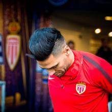Falcao es delantero en el AC Mónaco