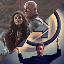 Deadpool y Iron man son héroes de Marvel