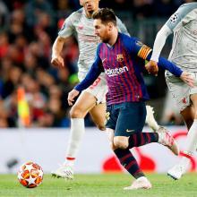 Lionel Messi es el goleador del Barcelona