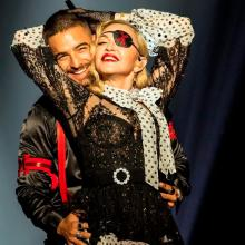 Maluma junto a Madonna