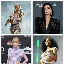 Becky G, Taylor Swift, Dua Lipa y Sza