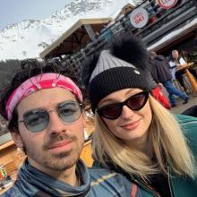 Joe Jonas y Sophie Turner