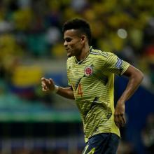 Luis Díaz, delantero de la Selección Colombia
